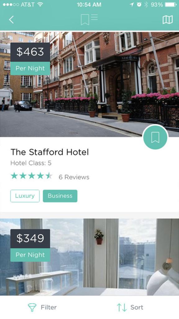 Hotel Reservation Mobile App